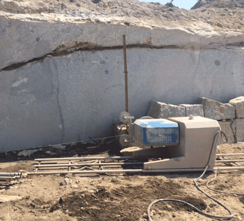 Extraction de pierre